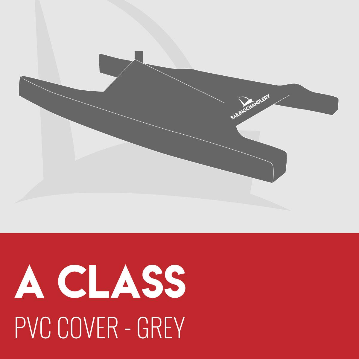 A Class Boat Cover - PVC - Grey