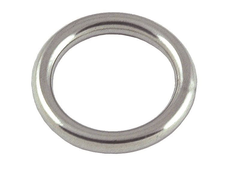 Stainless Steel Round Ring - 4mm x 25mm