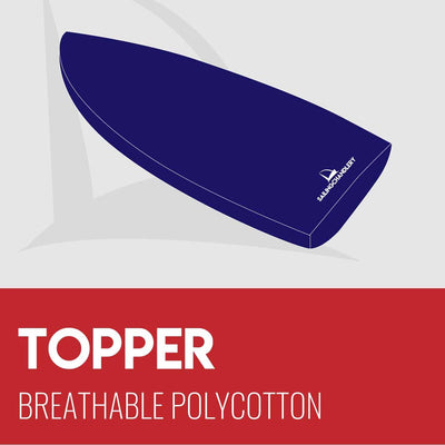 Topper Boat Cover - Breathable Polycotton