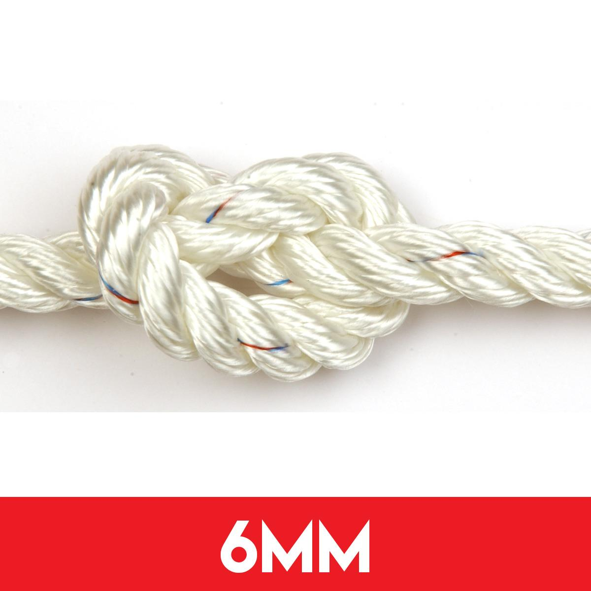 6mm 3 Strand Polyester Rope