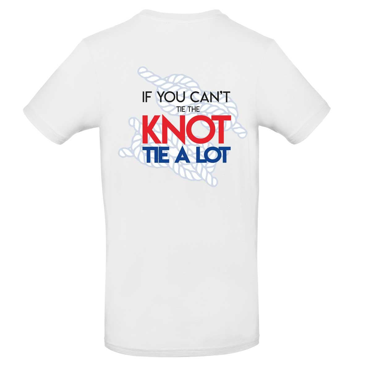 Mens T-Shirt - If You Can't Tie The Knot Tie A Lot