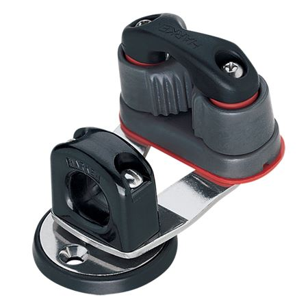 Harken Standard Cam Base with Swivel and Bullseye Cleat