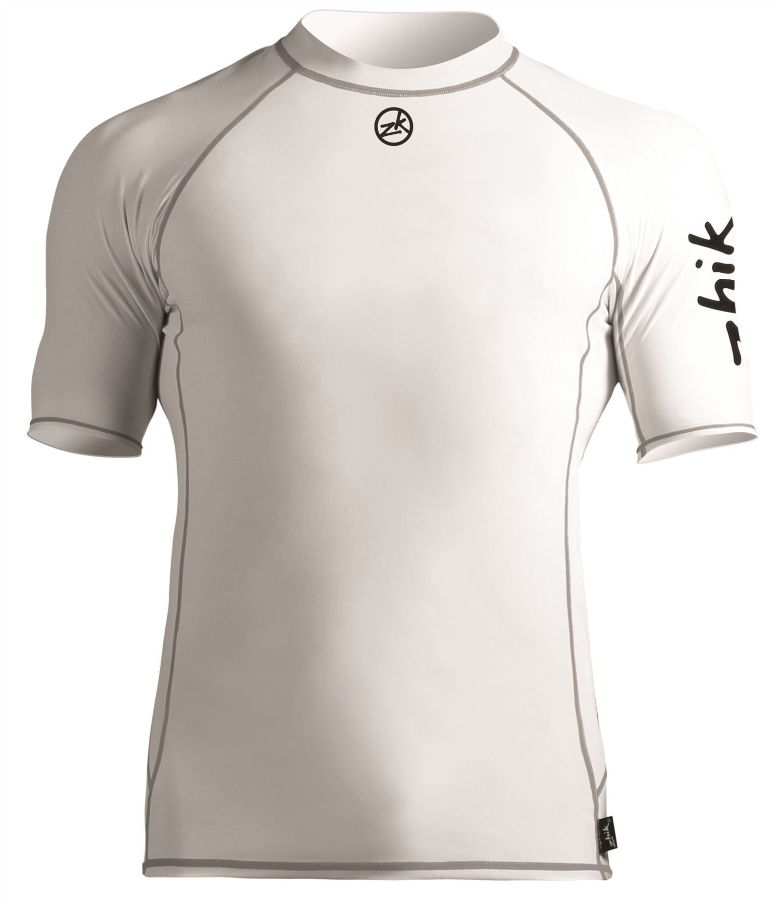 Zhik Mens Short Sleeve Spandex Rash Vest - White