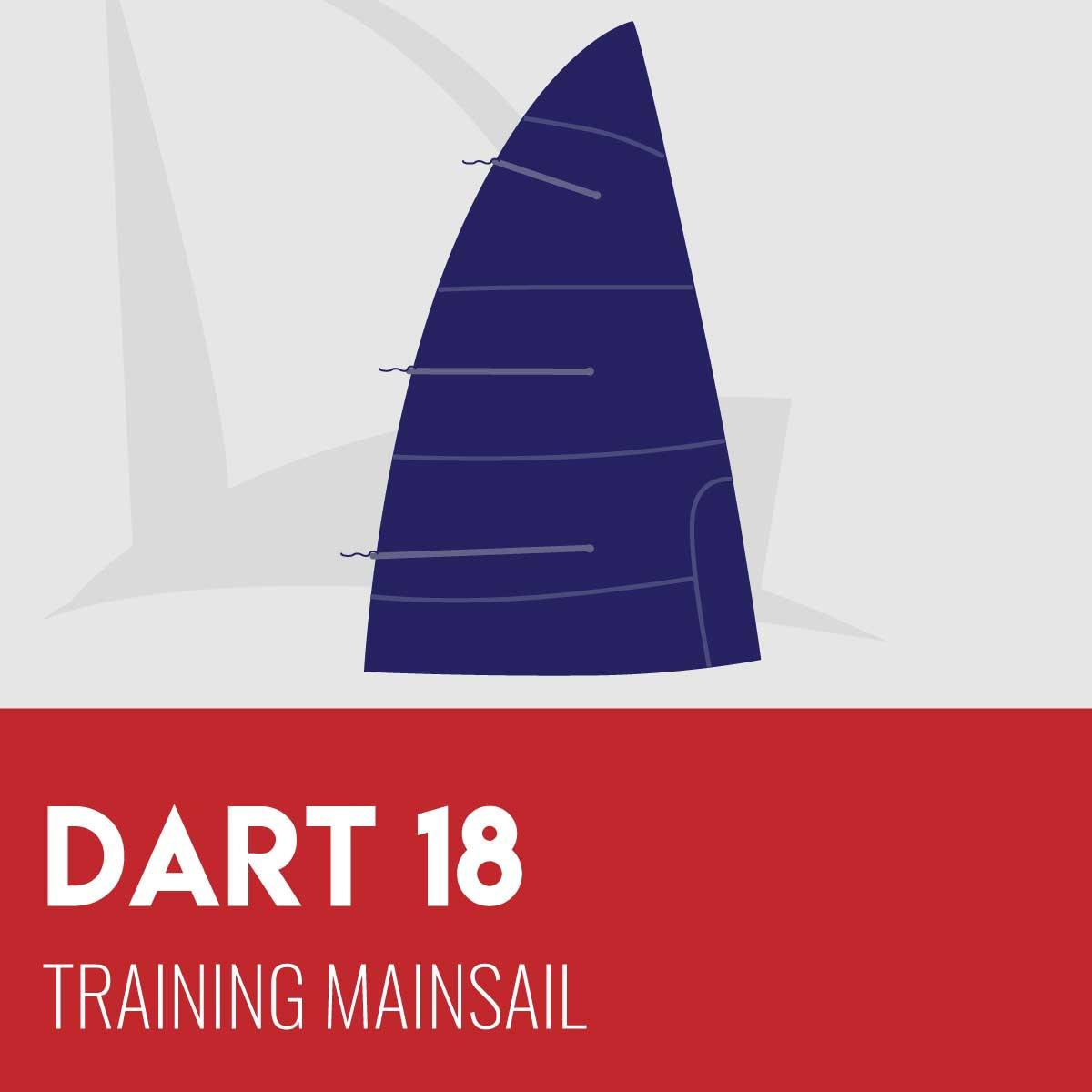 Dart 18 Training Mainsail