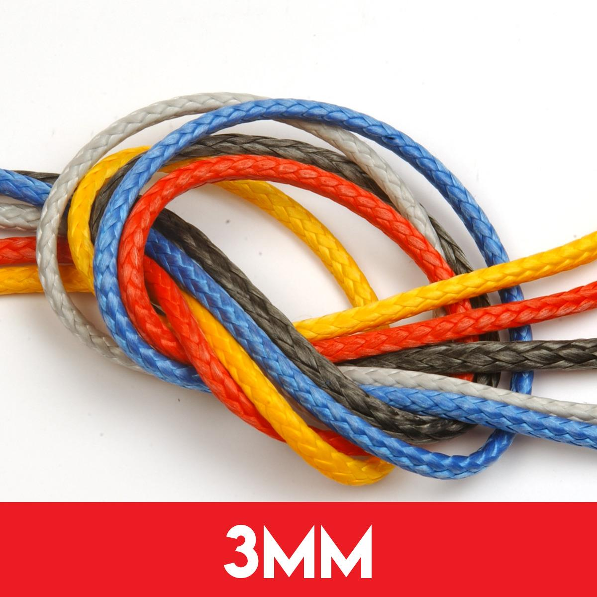 3mm Dyneema SK78 Compact Braid Rope