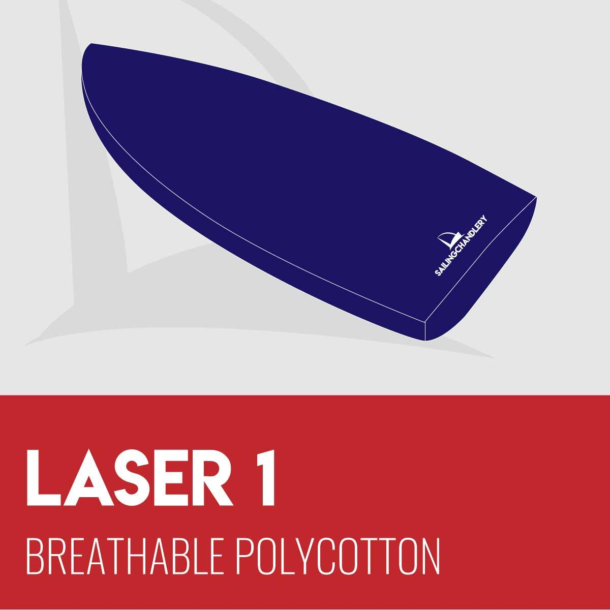 Laser 1 Boat Cover - Breathable Polycotton