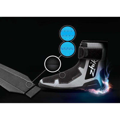 Zhik 560 Sailing Boots with Laser Grip II Hiking Strap
