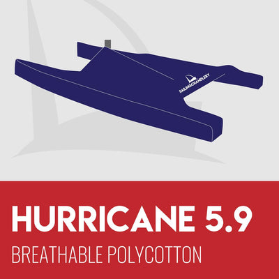 Hurricane Boat Cover - Breathable PVC Polycotton