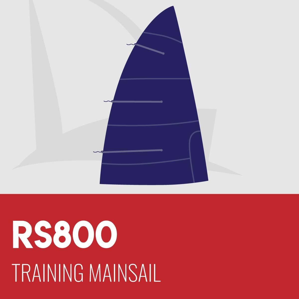 RS800 Training Mainsail