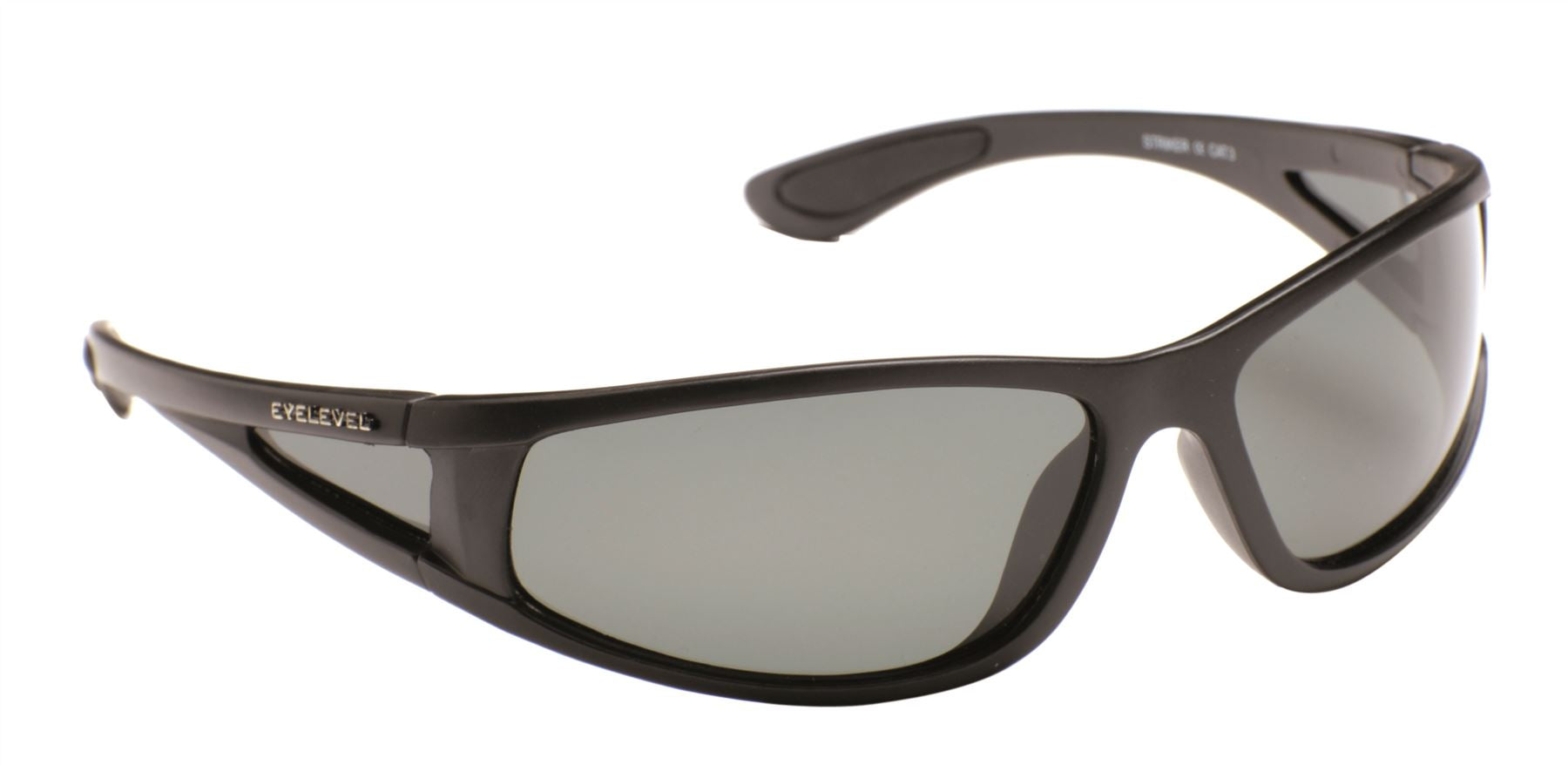 Striker Sunglasses with Side Shield - Grey Lens