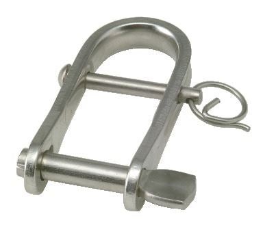 6mm Strip Shackle with Key Pin and Removable Bar