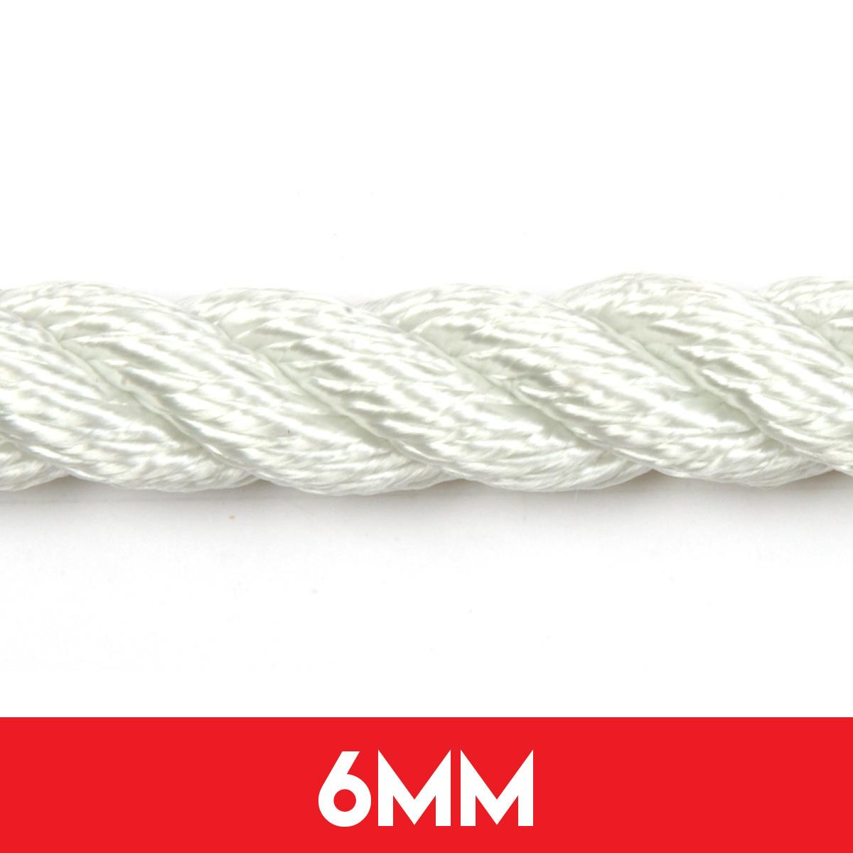 6mm 3 Strand Nylon Anchor Rope