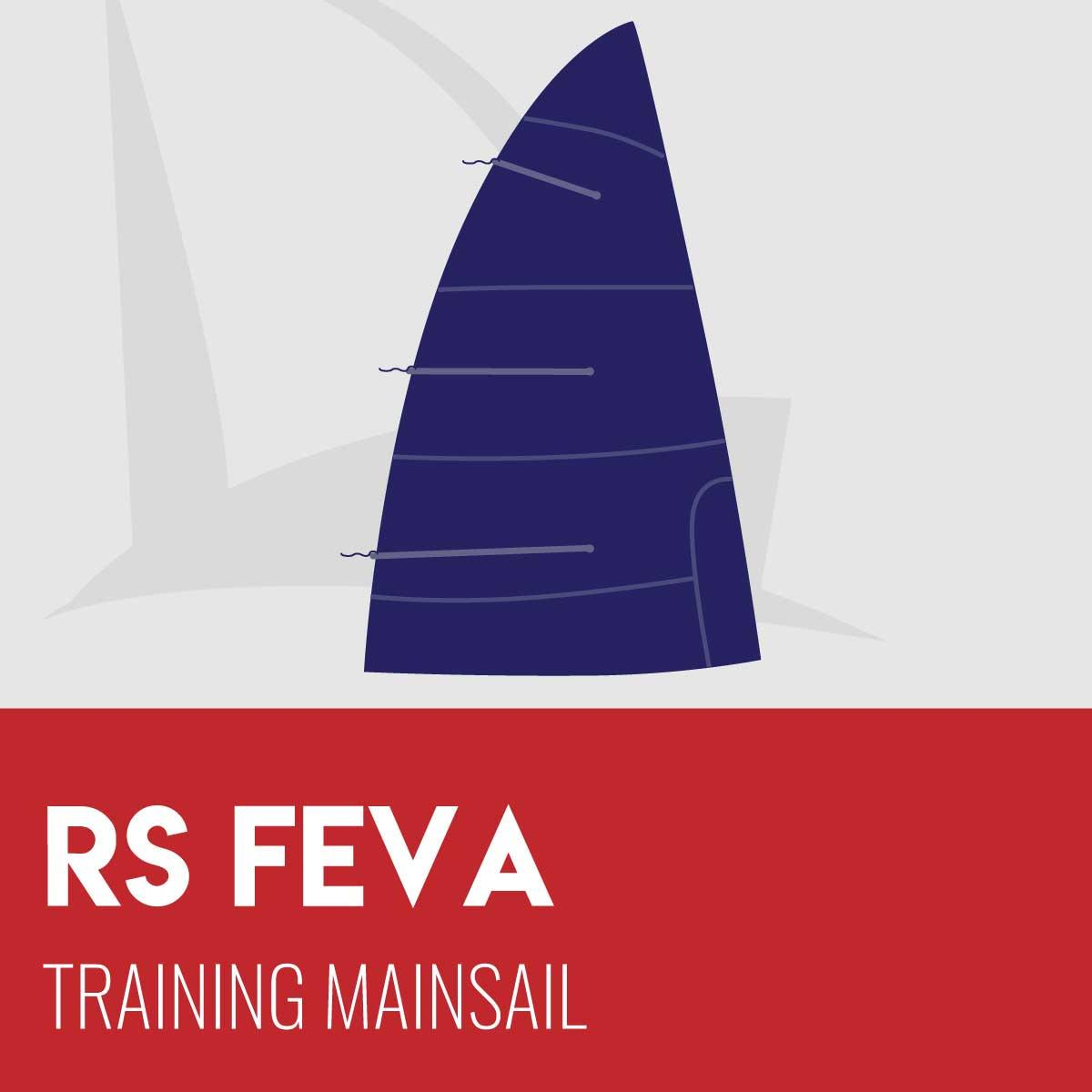 RS Feva Training Mainsail