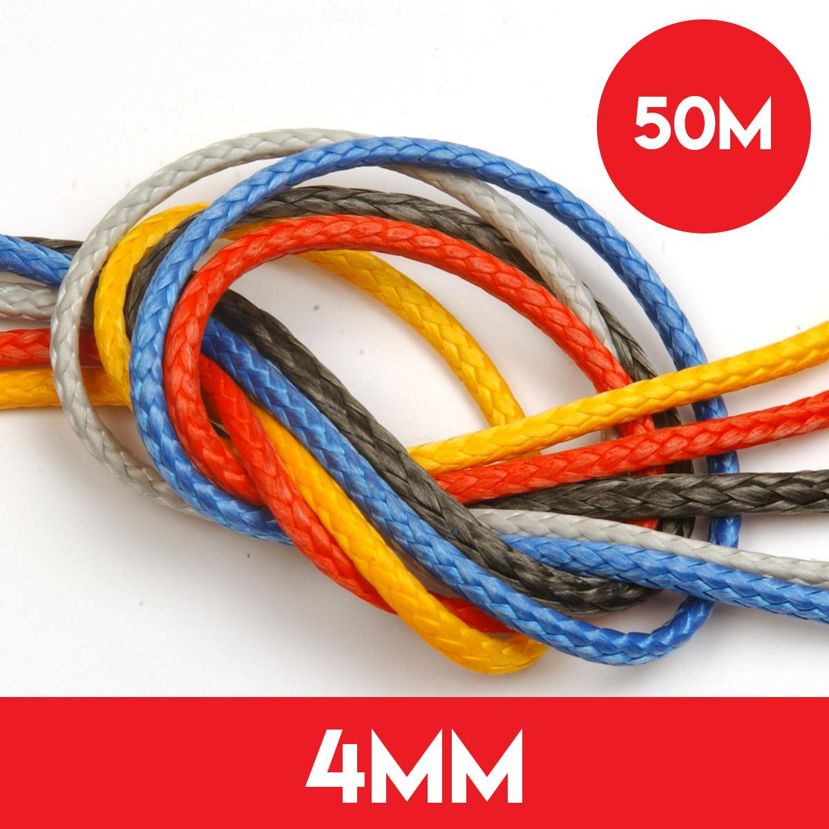 50m Reel of 4mm Dyneema SK78