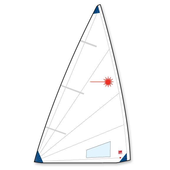 Laser Radial Folded Sail