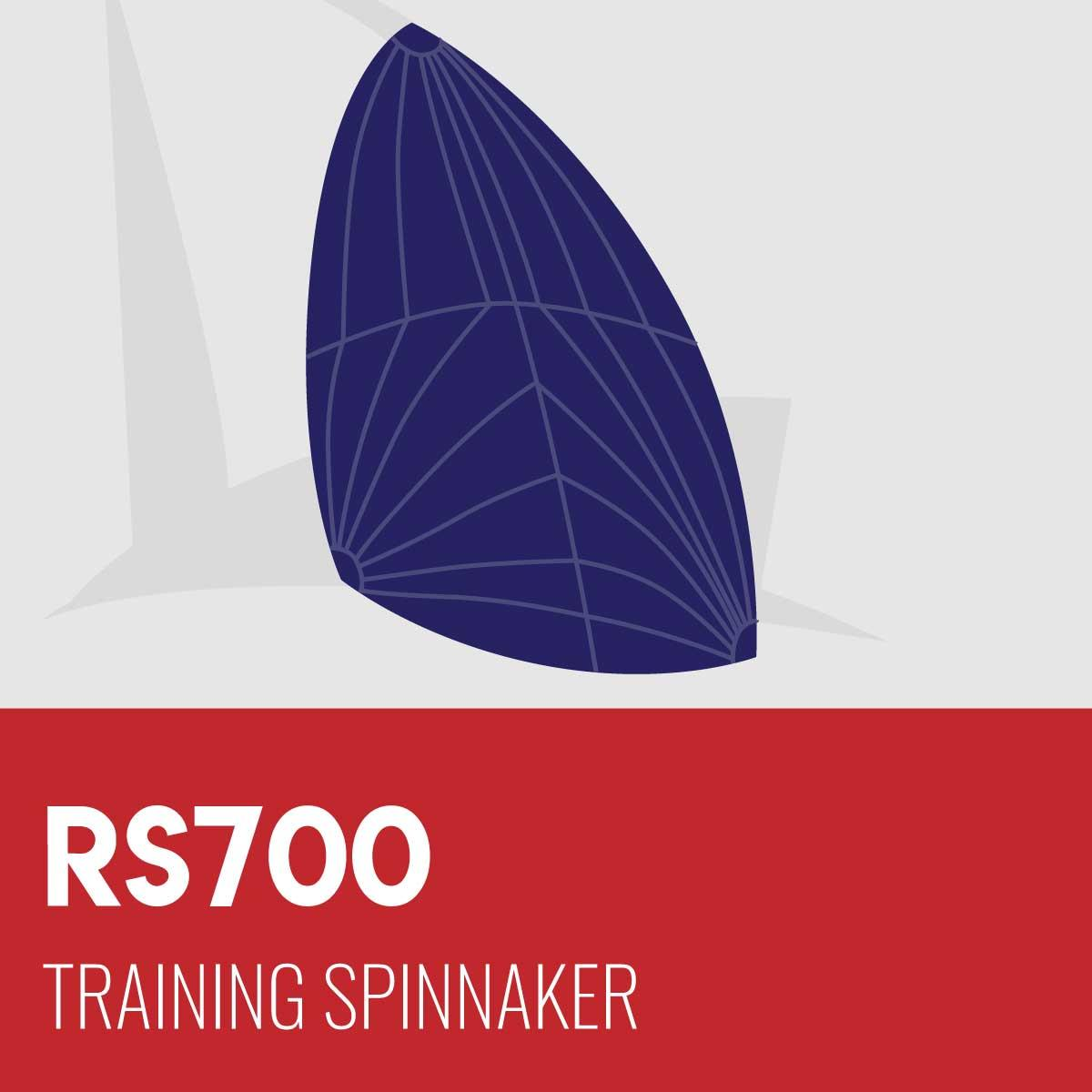RS700 Training Spinnaker