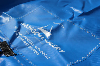 Laser Pico Boat Cover - Mast Up - Blue PVC