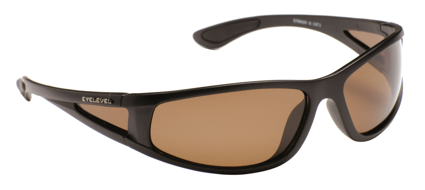 Striker Sunglasses with Side Shield - Brown Lens