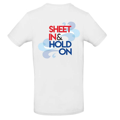 Mens T-Shirt - Sheet In and Hold On