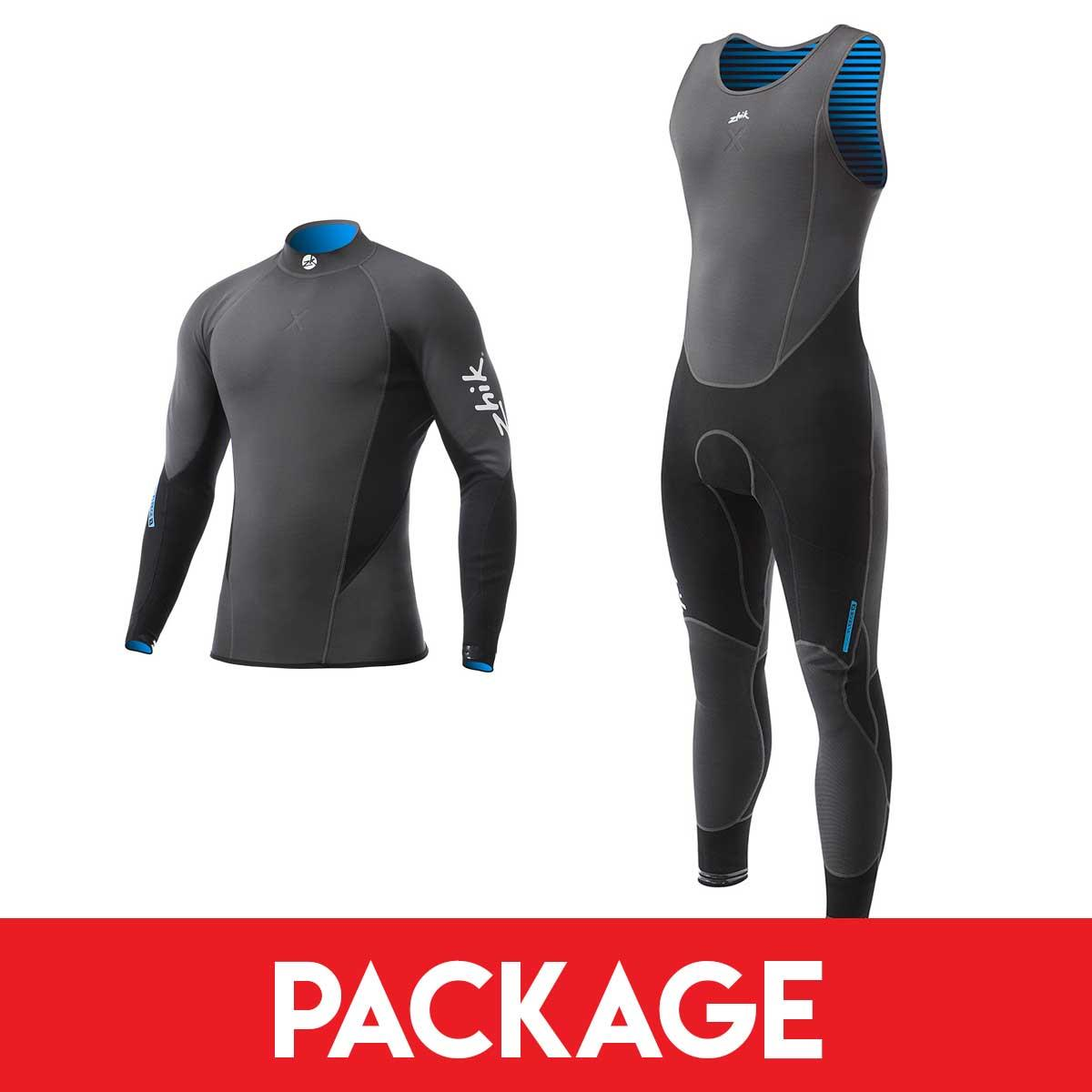 Mens Zhik Microfleece X Sailing Wetsuit Package