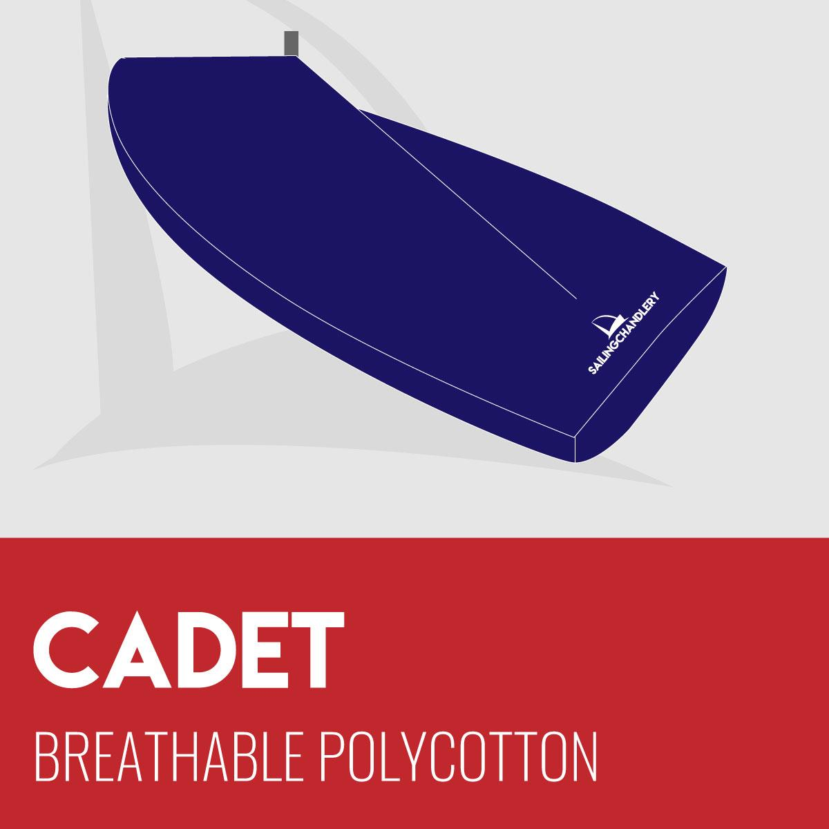 Cadet Boat Cover - Boom Up - Breathable Polycotton