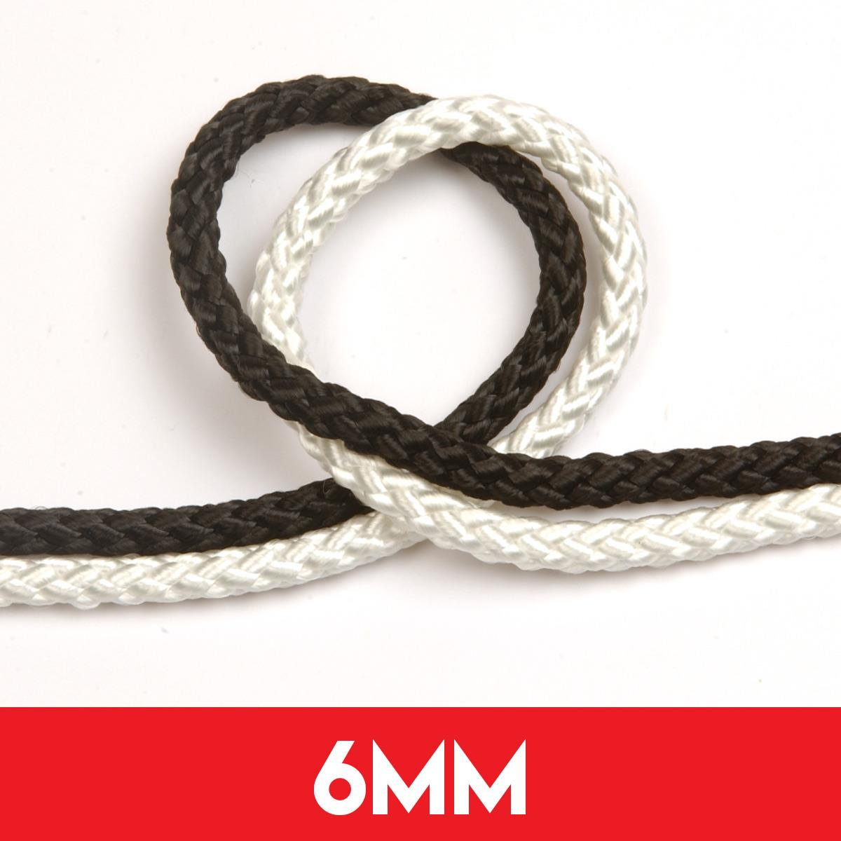 6mm 8 Plait Standard Polyester Rope