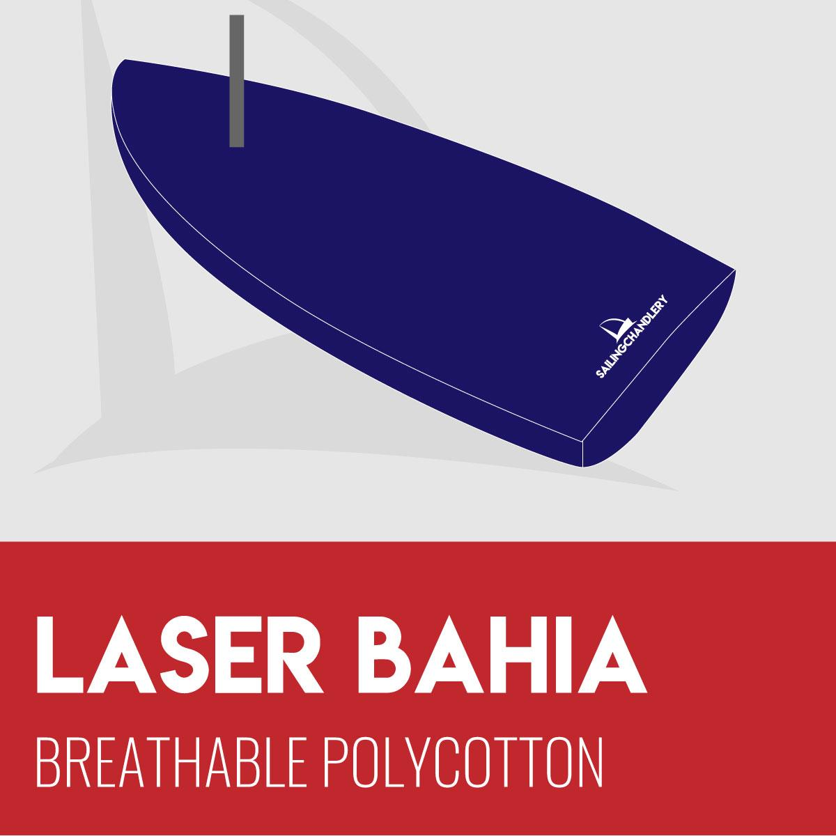 Laser Bahia Flat Boat Cover - Breathable