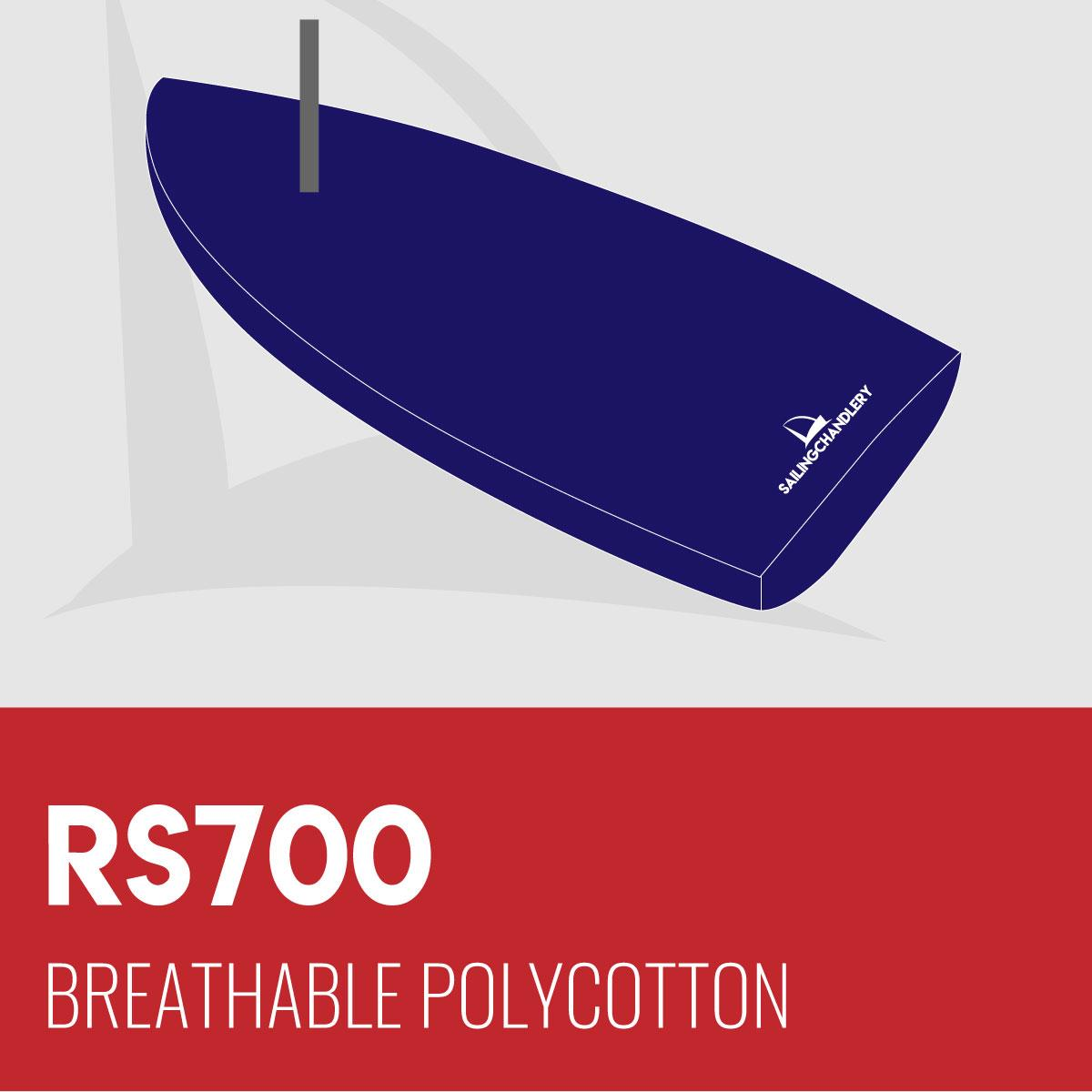 RS700 - Flat Cover - Breathable Polycotton