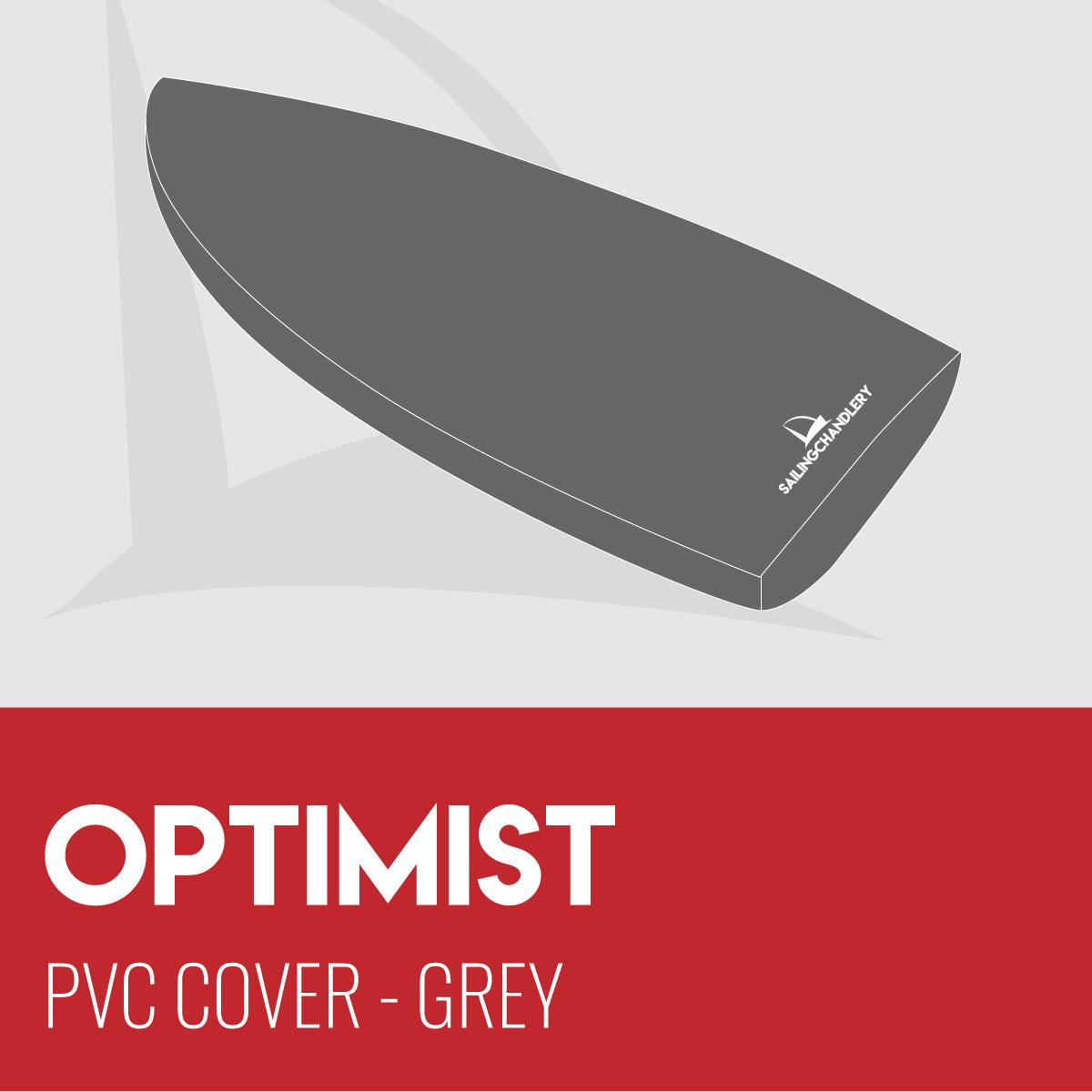 Optimist Boat Cover - PVC - Grey