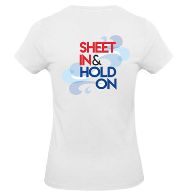 Womens T-Shirt - Sheet In and Hold On