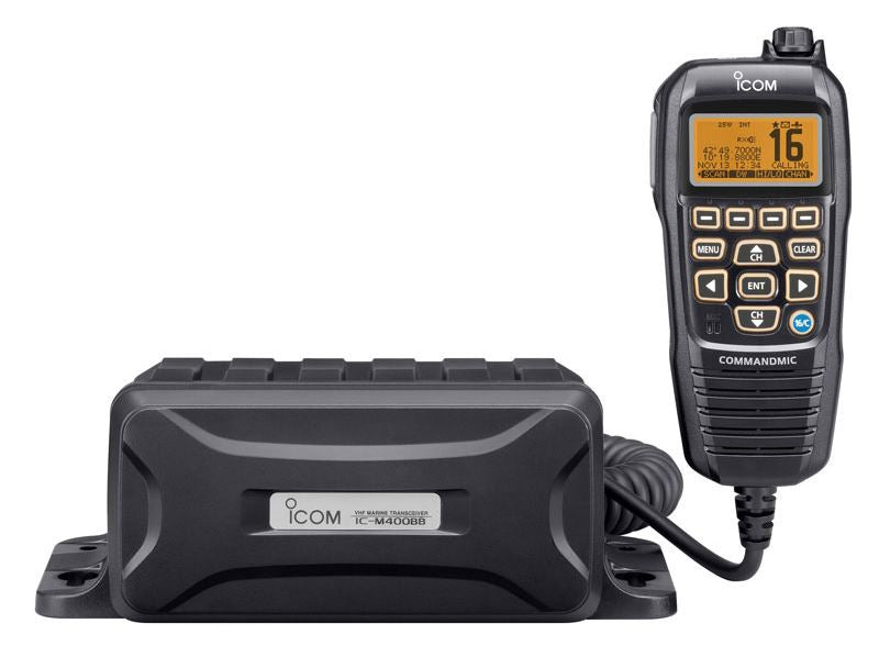 iCom IC-M400BB Black Box VHF with DSC and Command Mic