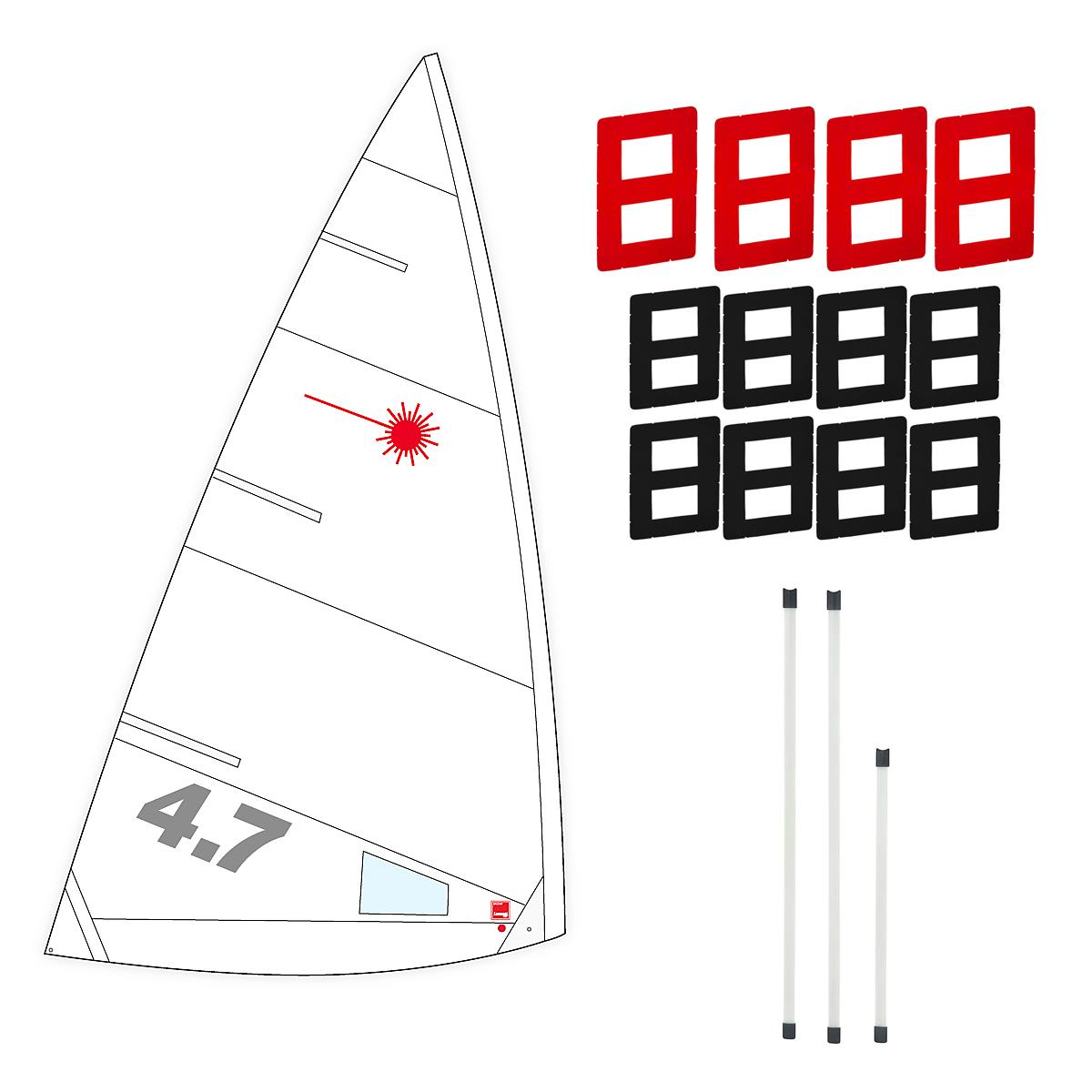 Laser 4.7 Sail Package