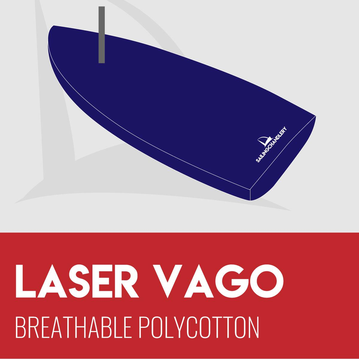 Laser Vago Flat Boat Cover - Breathable Polycotton