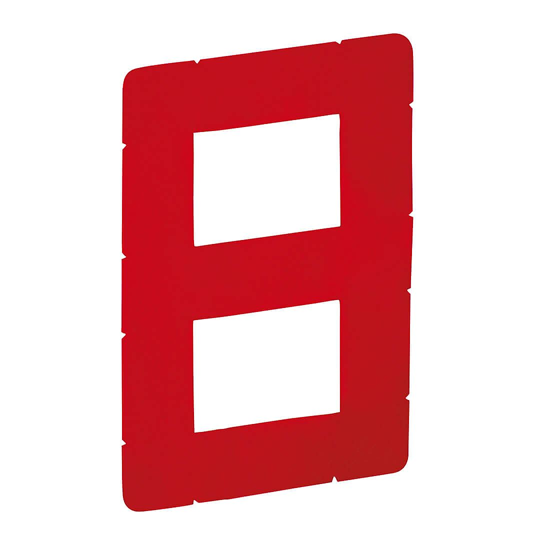Red 230mm Digital 8 Sail Number