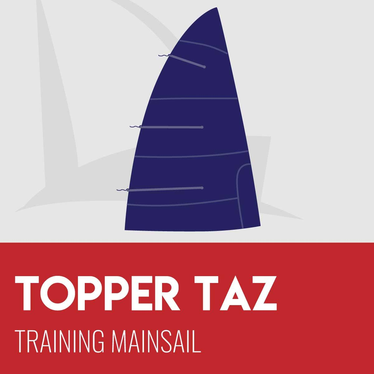 Topper Taz Training Mainsail
