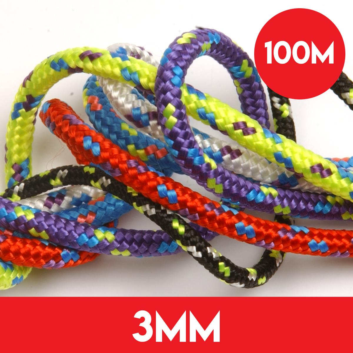 100m of 3mm Kingfisher Evolution Performance Rope