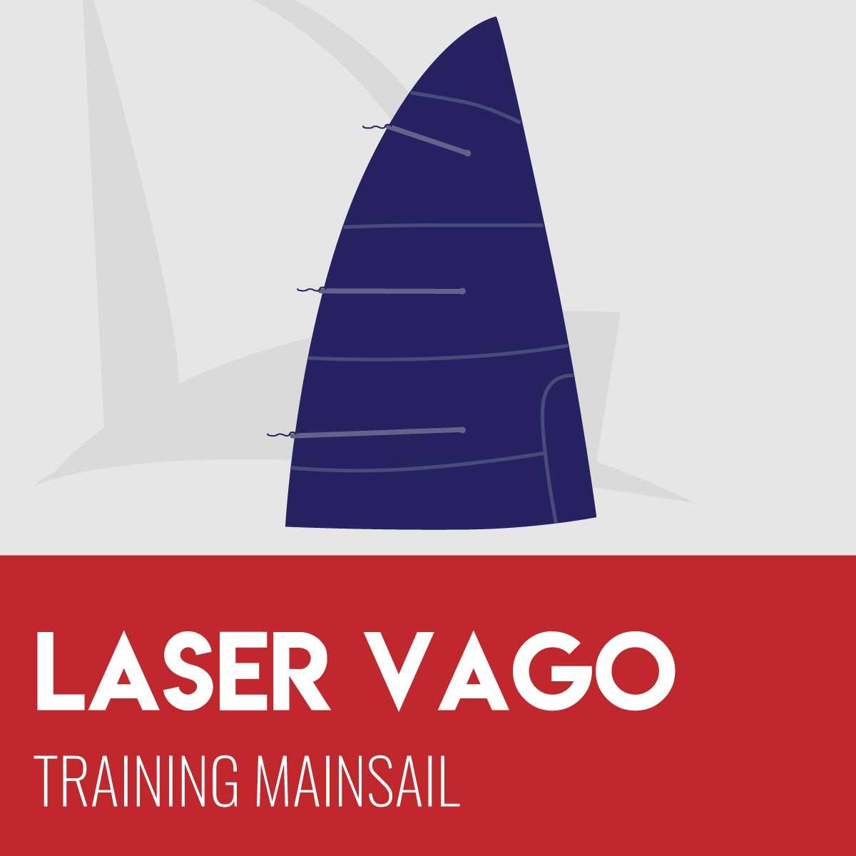 Laser Vago Training Mainsail