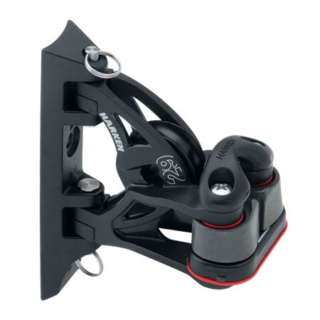 Harken 29mm Pivoting Lead Block with Cam-Matic Cleat