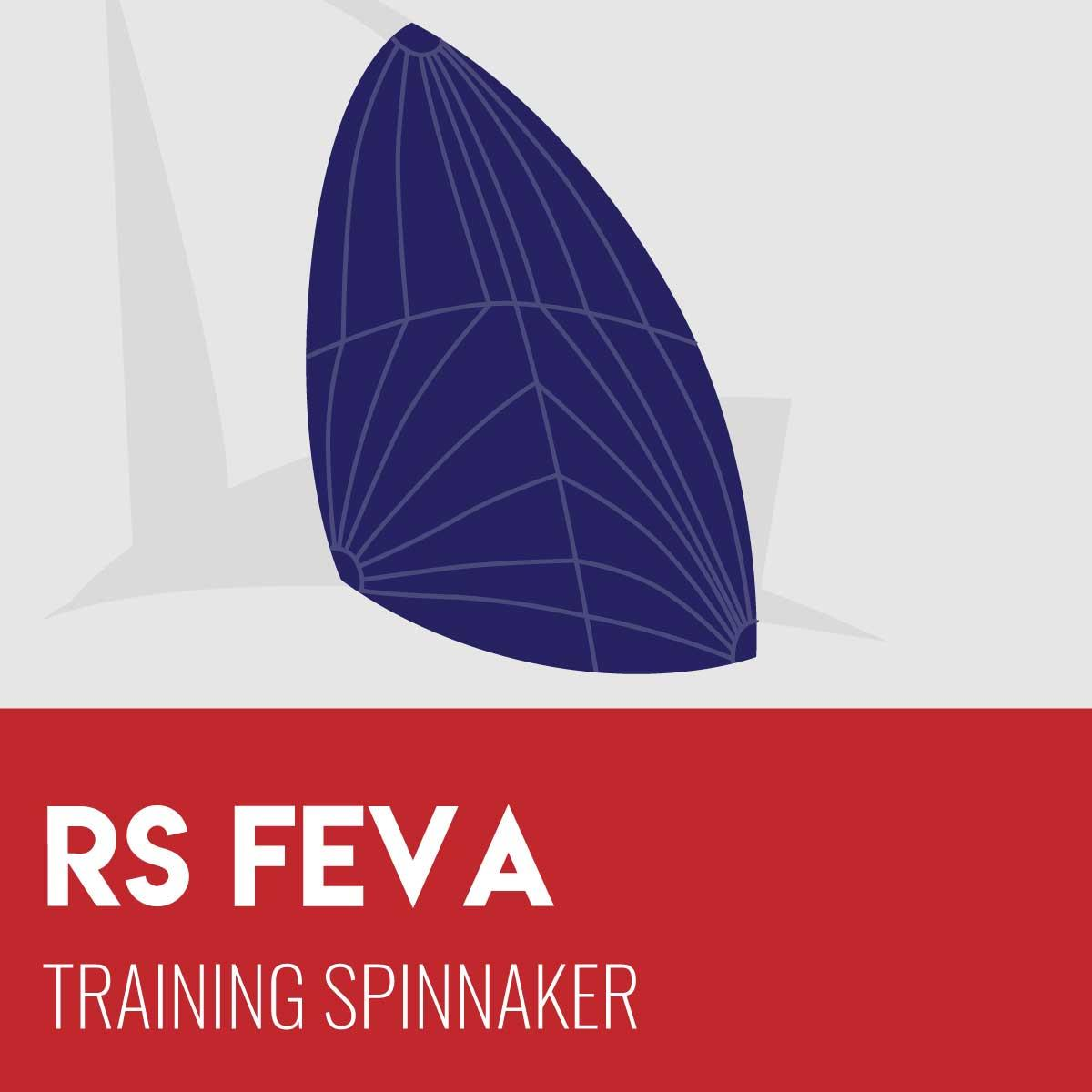 RS Feva Training Spinnaker