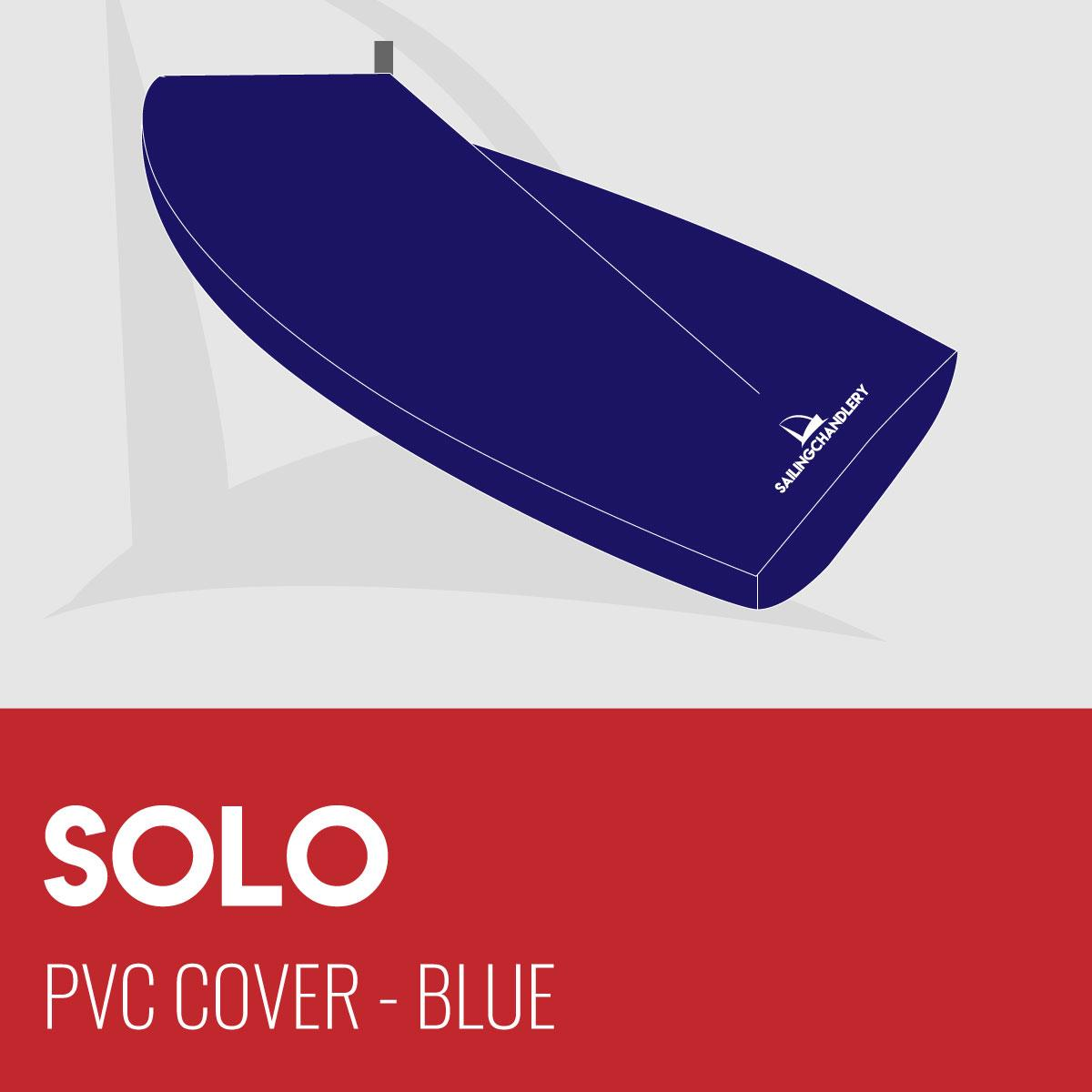 Solo Boat Cover - Boom Up - PVC