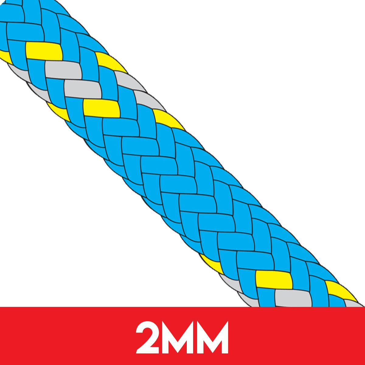 2mm Evolution Race Dyneema SK78 Rope