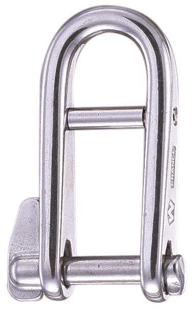Wichard 6mm Key Pin Halyard Shackle