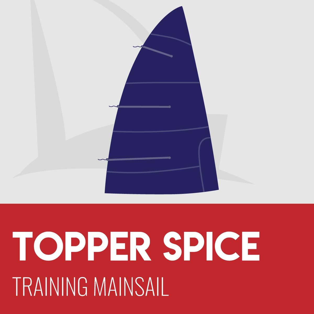 Topper Spice Training Mainsail