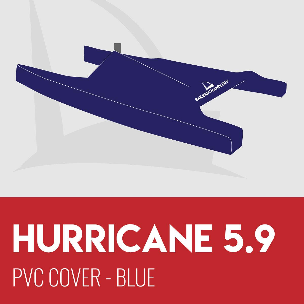 Hurricane 5.9 Boat Cover - PVC