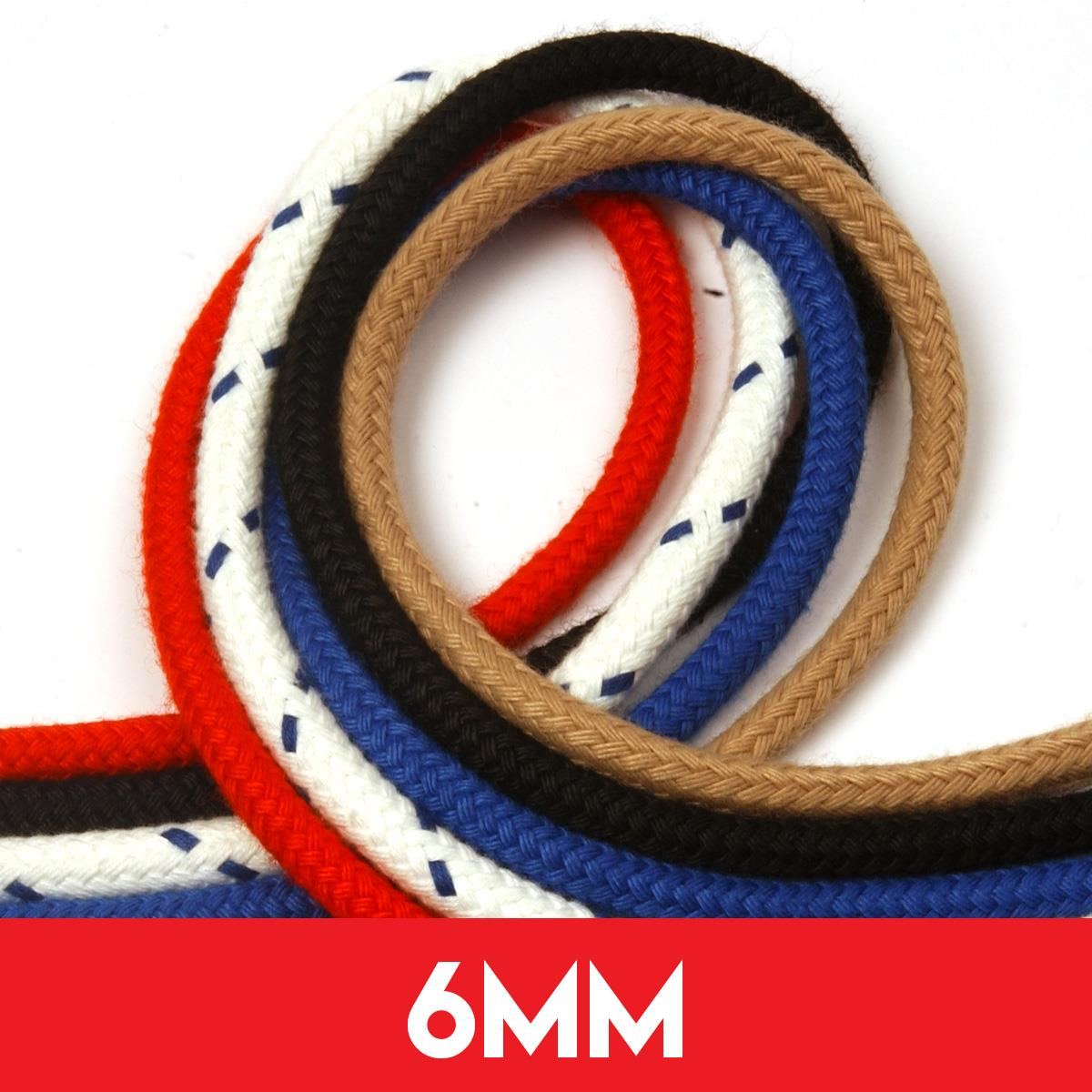 6mm Matt Polyester Rope