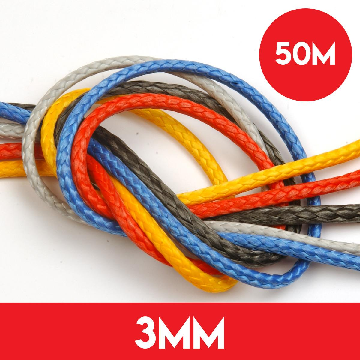 50m Reel of 3mm Dyneema SK78