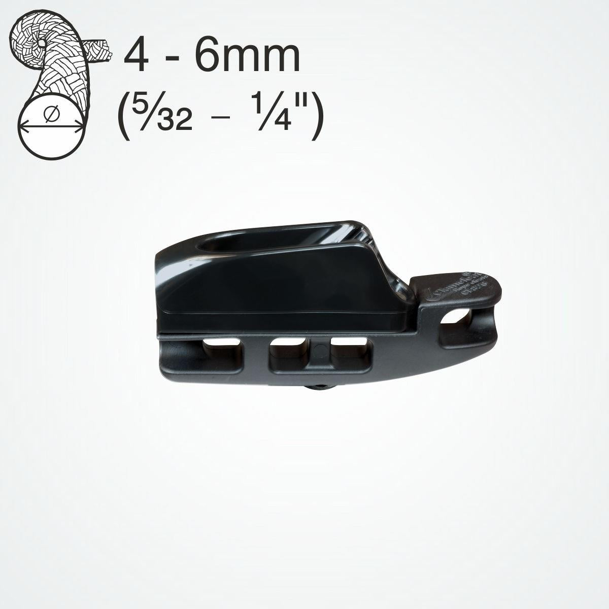 Clamcleat CL826 Aero Base with CL272 Nylon MK2 Junior