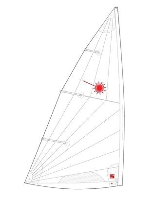 Laser Standard Mark II Folded Sail