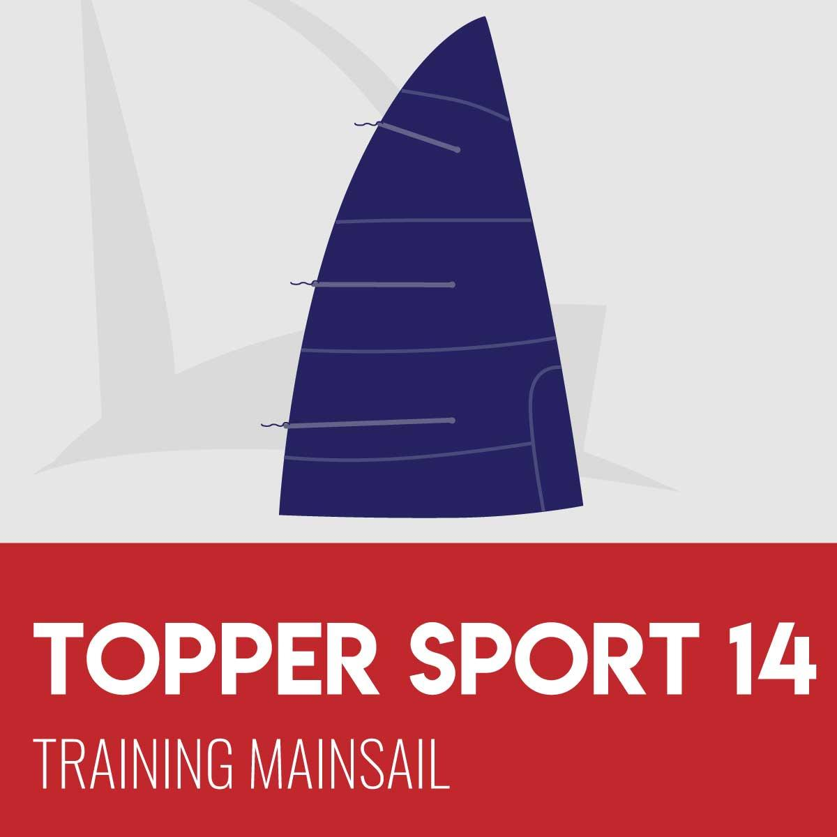 Topper Sport 14 Training Mainsail