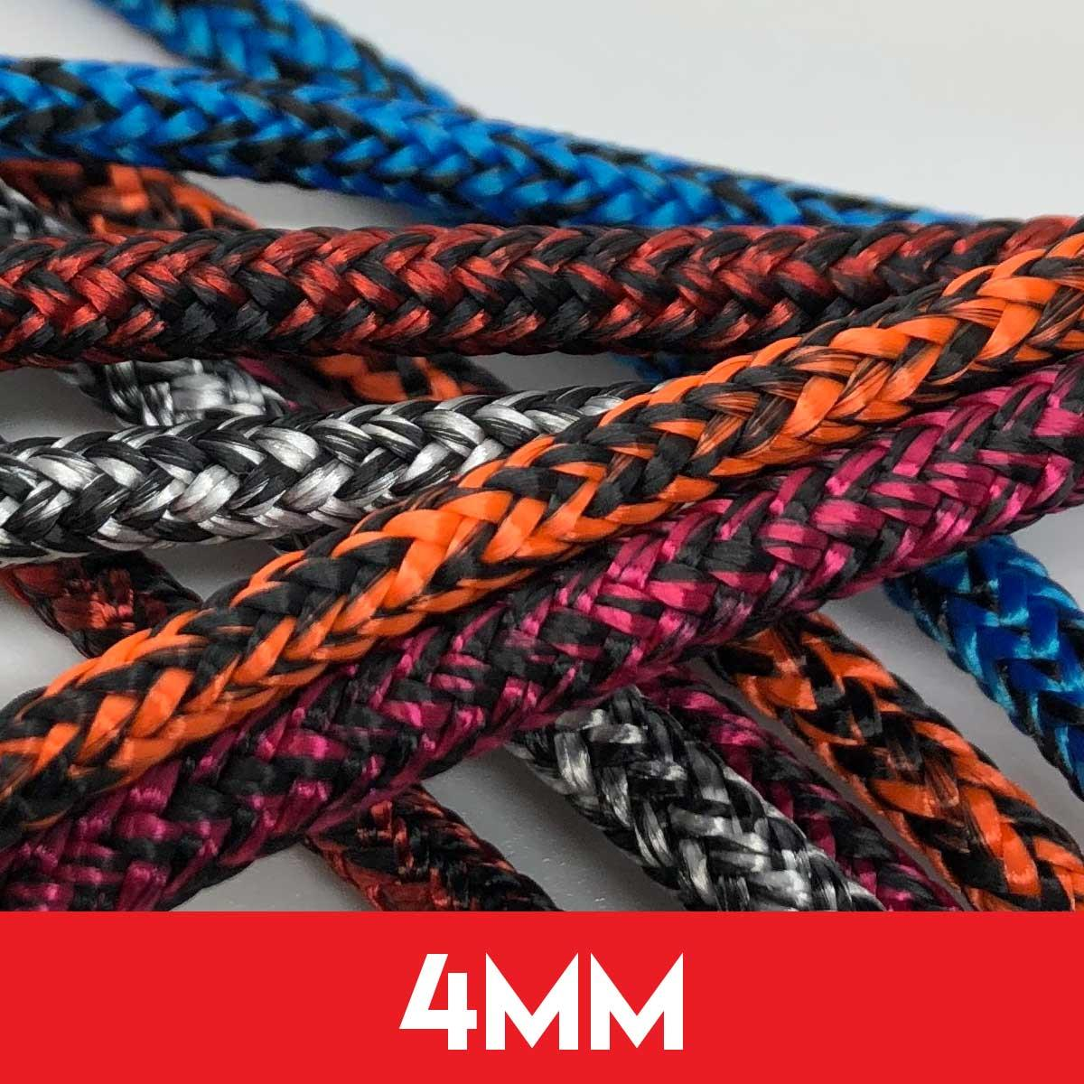 4mm Dyneema Kingfisher Evolution Race Rope